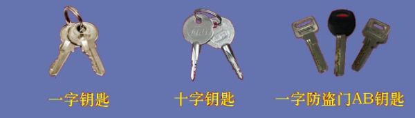 一字锁钥匙